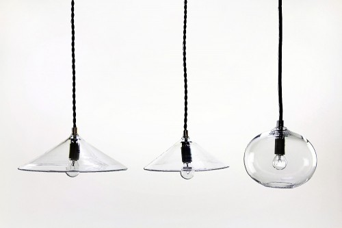 glass pendant-light