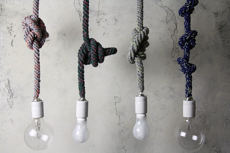Tricot tricot knot pendant light tricot knot pendant light mozeypictures Choice Image